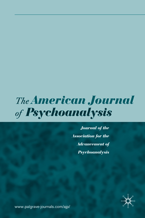 American Journal of Psychoanalysis